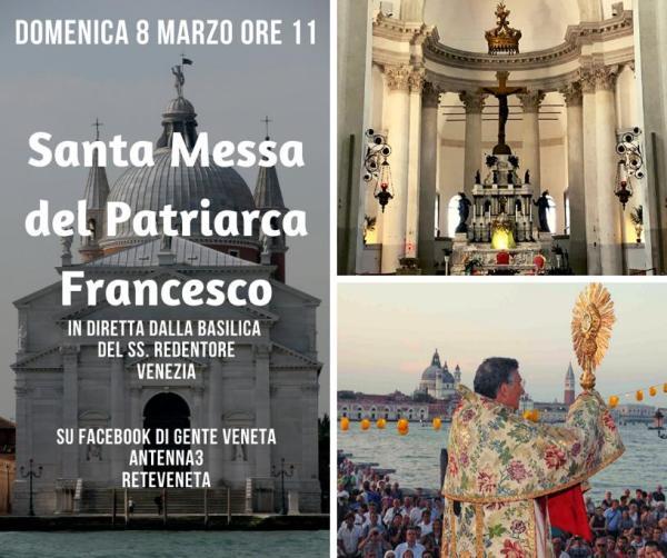 SANTA MESSA DOMENICA 8 MARZO 2020